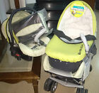 STROLLER PRAM BABY CARRIER BREVI TRIO TURNS INTO B MAX cod 747 white grey
