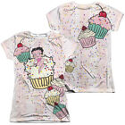 Betty Boop CAKE BOOP 2-Sided Sublimated All Over Print Poly Juniors T-Shirt $27.94 USD