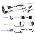 """Self Balancing Electric Scooter Hoverboard Bluetooth LED 6.5"""" UL Listed Lot US"""