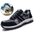Womens Mesh Work Safety Shoes Breathable Outdoor Steel Toe Construction Shoes