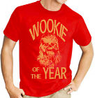 Wookie of the Year: Star Wars Chewbacca Men's Red T Shirt £10.99 GBP