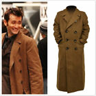 10th Doctor Who th Dr. Ten Brown Long Coat Trench Jacket Cosplay Costume