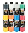Airbrush Paint - Supersized Auto Air Colors Semi-Opaque 8 bottle set