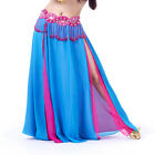 Sexy Belly Dance Costume Dance Double Color Chiffon Skirt 13 colors