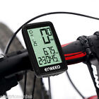 Wired Wirless Bicycle Cycle Computer Odometer Speedometer Rechargeable Tracking