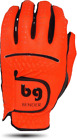 BENDER COLOR GOLF GLOVE ● Orange Synthetic - Cabretta Leather