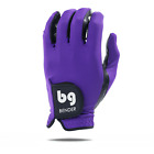 BENDER COLOR GOLF GLOVE ● Purple Spandex - Cabretta Leather
