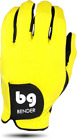 BENDER COLOR GOLF GLOVE ● Yellow Spandex - Cabretta Leather