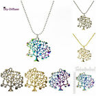 1pc Zinc alloy Tree of life Pendant Necklace Chain Fashion Jewelry as Best Gift