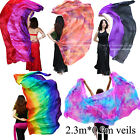 "2.3m*0.9m(90""x35""), Various 5mm paj silk belly dance silk veil for Children play"