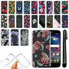 For ZTE Grand X 3 X3 Z959 Warp 7 N9519 Ultra Thin Clear Gel TPU Case Cover + Pen
