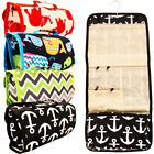 Travel Cosmetic Bag Toiletry Makeup Organizer Pouch Print Po