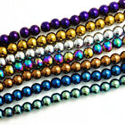 jewelry beaded - Wholesale lot 40pcs Crystal Glass Round Loose Spacer Jewelry Finding 8mm DIY