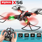 Syma X56 2.4G Foldable Pocket Drone RC Quadcopter Hover Headless Speed Switch US
