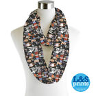 Infinity Scarf Jersey Or Chiffon George Michael Unisex Fashion Loop Scarves