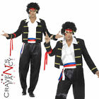 Adult 80s Adam Ant Costume New Romantic Prince Mens 1980's Fancy Dress Pop Star