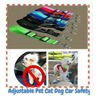 Useful Adjustable Puppy Pet Animals Harness Lead Seat Safety Car Vehicle Belts