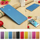 Ultra Thin Matte Coloured Silicone TPU Back Case Cover Skin for iPhone 7 & 8 New