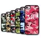 Personalised Initials Army Camo Camouflage Pattern Deluxe Phone Case Cover Skin