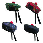 Tartanista Balmoral /Barett - Schottisches Highland-Tartan/Irisches Plaid-Muster