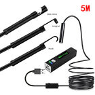 Wireless New Inspection 1/2/3.5/5/10m Lcd Smart Endoscope Camera Wifi Borescope