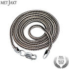 1.6mm inches - Vintage 1.6mm S925 Sterling Silver Snake Chain Fit Pendant Necklace for Unisex