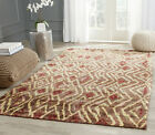Safavieh Bohemian Hand Knotted BROWN / GOLD Jute Area Rug - BOH637A