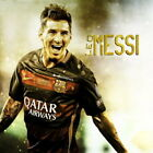 64864 Lionel Messi Barcelona Football Soccer Top Playr Decor Wall Print Poster