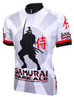 Mens Cycling Jersey Samurai Dark Ale Beer Jersey bike bicycle