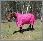 Love My Horse 5'3 - 6'6 1200D 180g Fill High Neck WUG Horse Rug Pink / Silver