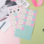 2PCS  Calendar Stickers Notebook Monthly Category Planner Note Index Label  BG