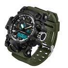 Sanda Men Digital Wrist Watches LED Military Outdoor Sport Waterproof Watch NEW