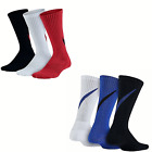 New Nike Boys' 3-Pk. Graphic Cushion Socks Size Small and Me