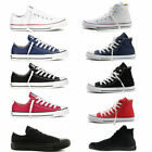 New ALL STARs Mens Chuck Taylor Ox Low High Top shoes casual Canvas Sneakers A