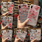 3D Slim Cute Rubber Soft Silicone Flower Girl Phone Case For