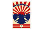 Washington Nationals Vintage Baseball Poster on Ebay