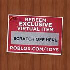 Roblox Exclusive Virtual Toys CODES ONLY Celebrity Gold Series 1 2 3 4 5 Figures
