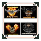 HARLEY DAVIDSON MOTORCYCLE Custom Edible Image Cake Topper Icing Frosting Sheet $10.0 USD on eBay