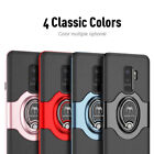 For Samsung Galaxy S9/S9 Plus Ring Holder Ultra Shockproof TPU Bumper Case Cover
