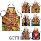 Mens Womens Novelty Funny BBQ Aprons Sexy Rude Cooking Kitchen Apron Gift Idea