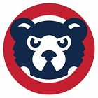 Chicago Cubs Mascot Circle logo Vinyl Decal / Sticker 5 Sizes!!! on Ebay