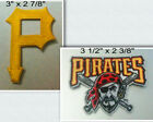 Pittsburgh Pirates Iron On Patch Choice of Style Free Shipping in Envelope Mail