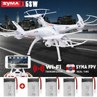Syma X5SW RC Quadcopter Drone 2.4G 6-Axis WIFI Camera FPV Headless Helicopter US