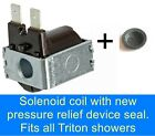 Solenoid coil fits Triton showers  83300450
