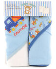 Snugly Baby Boys Hooded Towels 2-pack BRAND NEW!!!!!