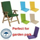 Highback Garden Dining Chair Cushion Pad Outdoor Furniture High Back RB