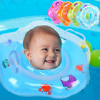 Swim Ring Newborn Baby Swimming Neck Float Tube Ring Bath Inflatable Circle New