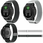 Stainless Steel Magnetic Milanese Strap Loop Bracelet for Garmin Forerunner 935