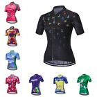 New Cycling Jersey Women's Team Bike Short Clothing Bicycle Sportwear Tops S-3XL