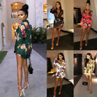 2018 Summer Autumn New Womens Dress l Evening Party Casual Club  Print Dresses